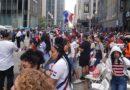 Miles asistieron al Desfile Dominicano de Manhattan
