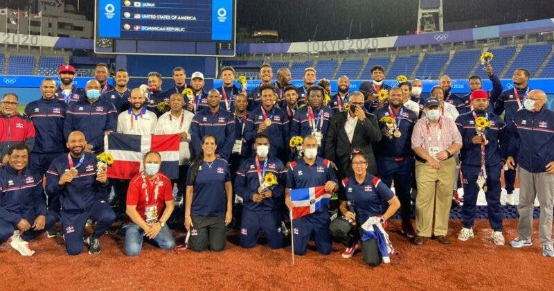 Béisbol RD mejora en el ránking por medalla en Juegos Olímpico