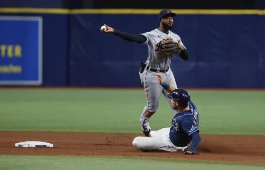 Díaz batea jonrón a primer lanzamiento; Rays vencen a Tigres