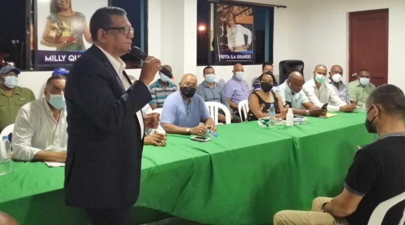 La Fuerza del Pueblo iniciará operativos especiales de inscripción de nuevos miembros en la circunscripción 2 de SDE a partir del próximo domingo