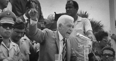 Se cumplen hoy 58 años del Golpe de Estado al profesor Juan Bosch