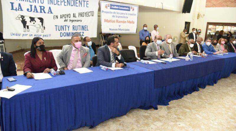Diputados realizan encuentro sobre creación de nueva provincia